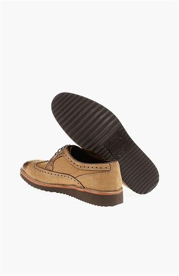 Nubuk Vizon Ayakkabı