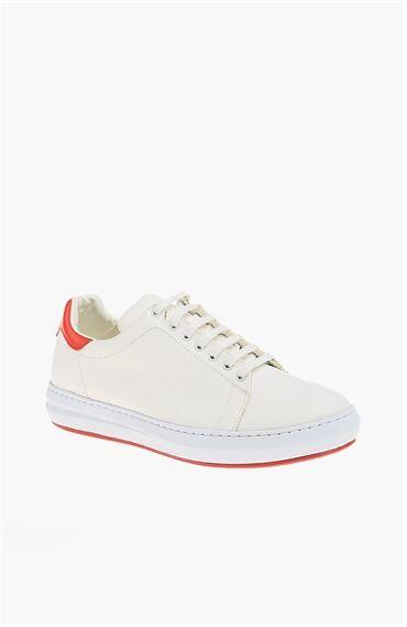 Beyaz Kırmızı Ayakkabı
