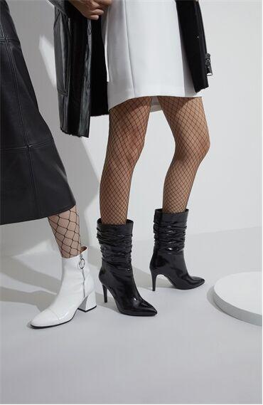 Rugan Siyah Çizme