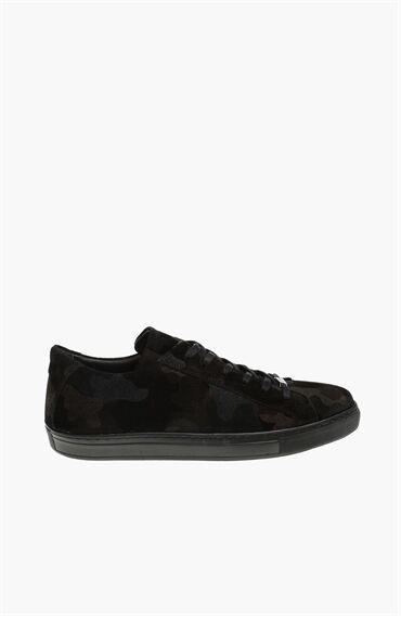 Süet Siyah Erkek Sneaker
