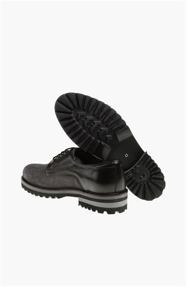 Süet Antrasit Ayakkabı