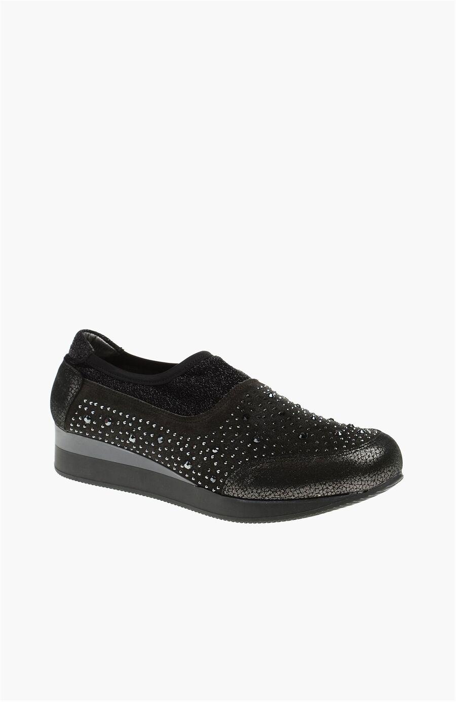 Nubuk Platin Ayakkabı