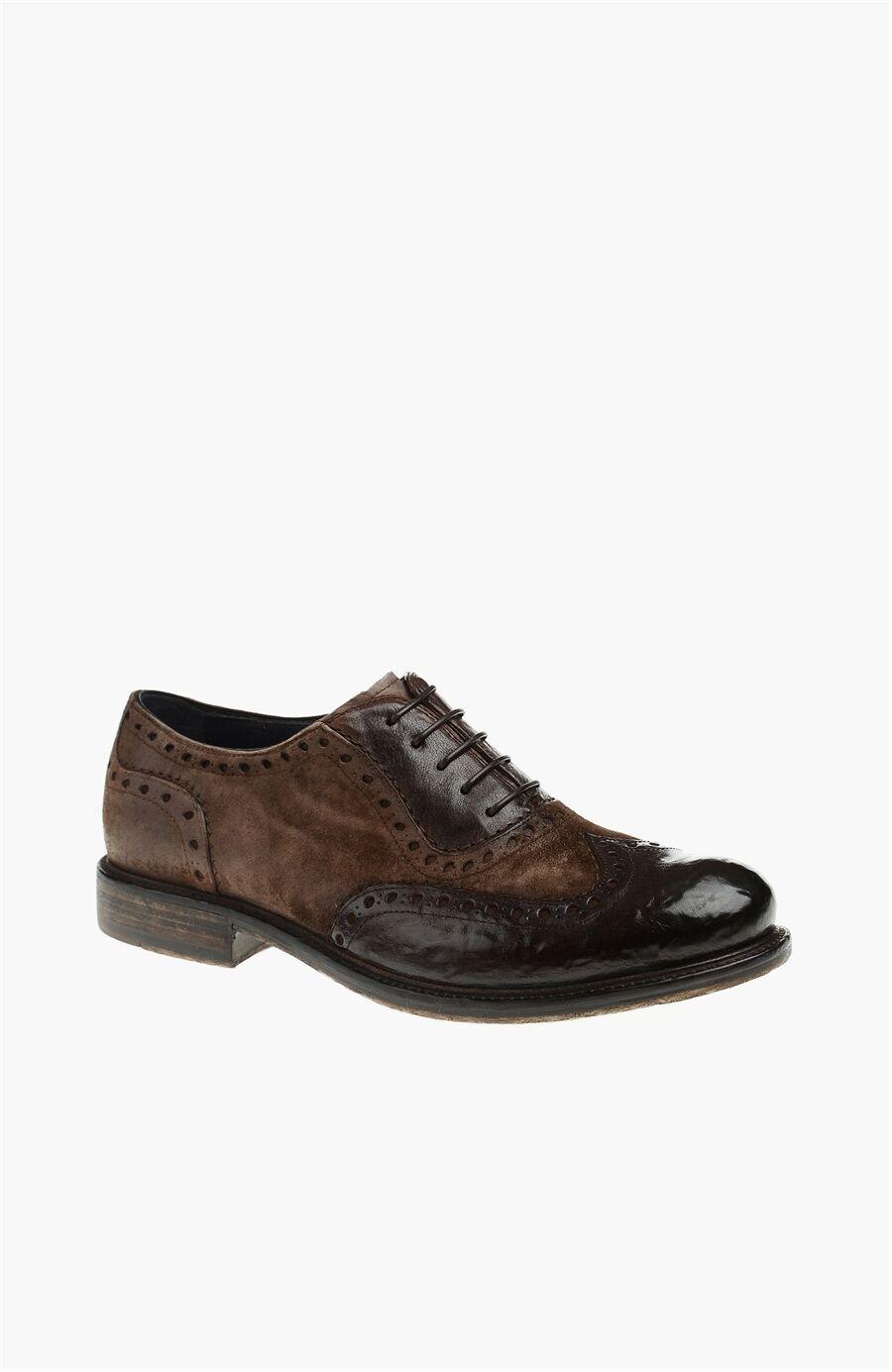 Desen Kahverengi Ayakkabı