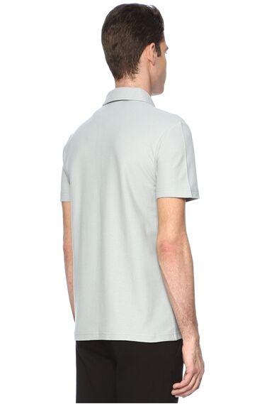 Slım Fit Kısa Kol Gri Tshirt