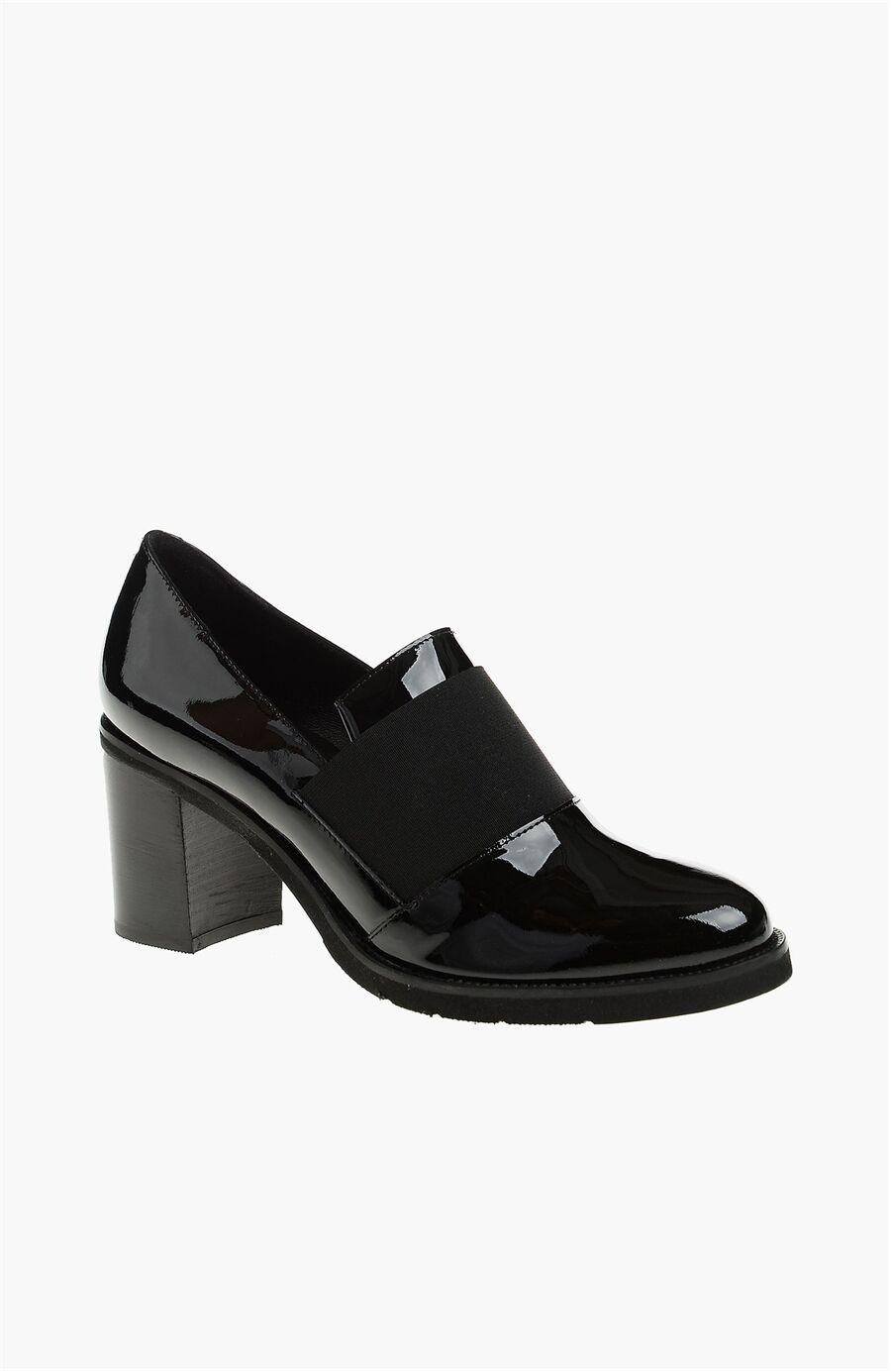 Rugan Siyah Ayakkabı