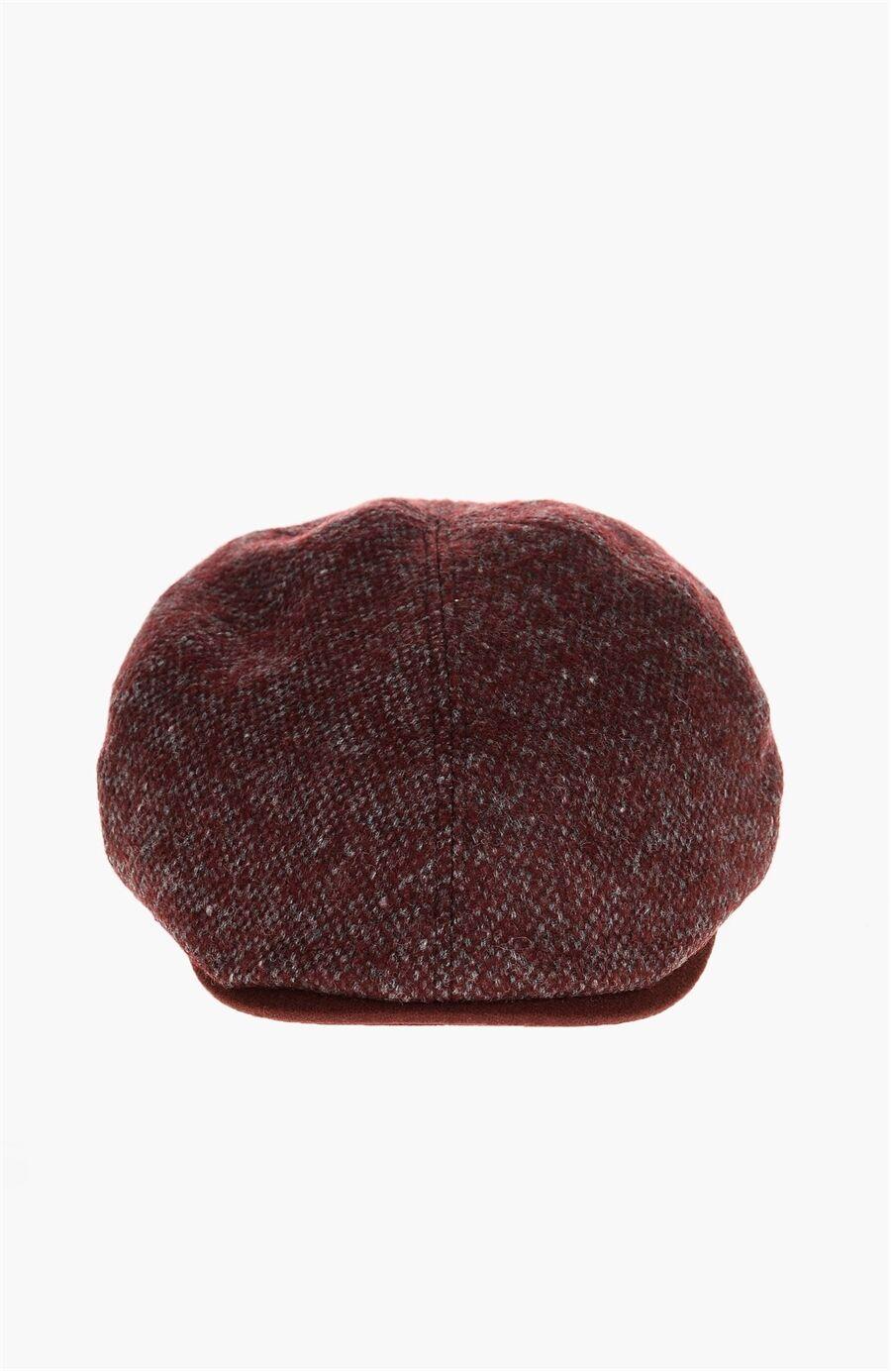 Bordo Erkek Şapka