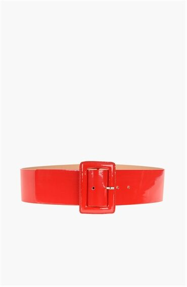 Kırmızı Kadın Kemer