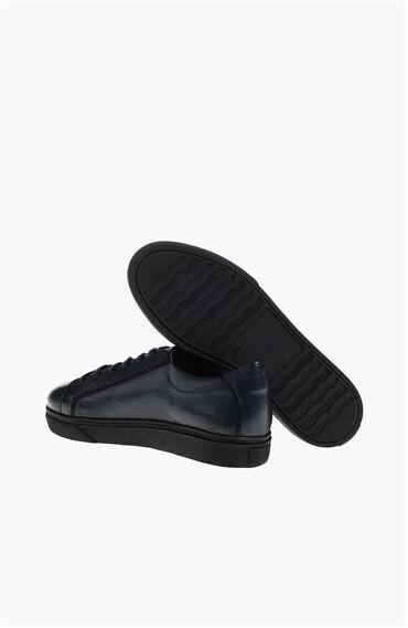 Desen Lacivert Sneaker