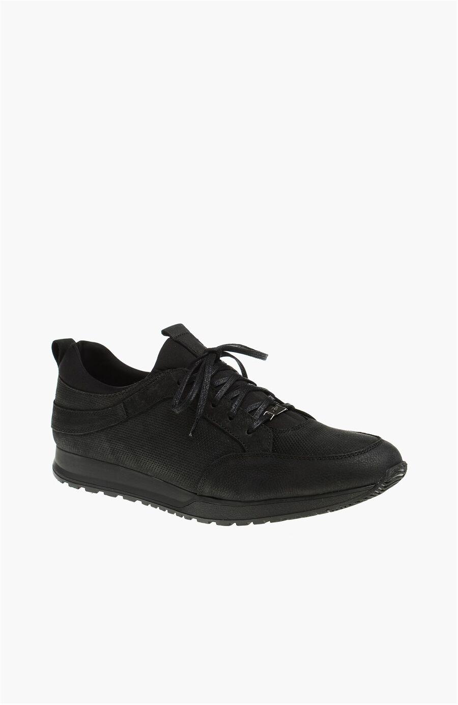 Nubuk Siyah Sneaker