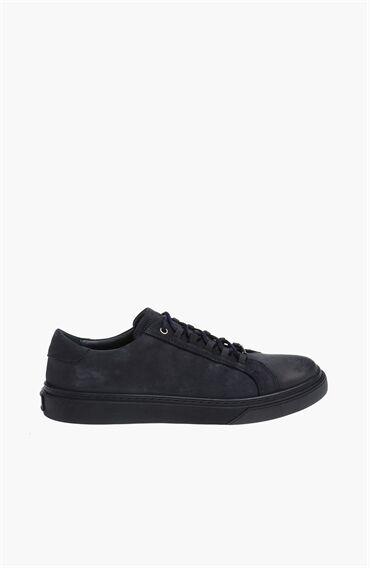 Nubuk Lacivert Sneaker