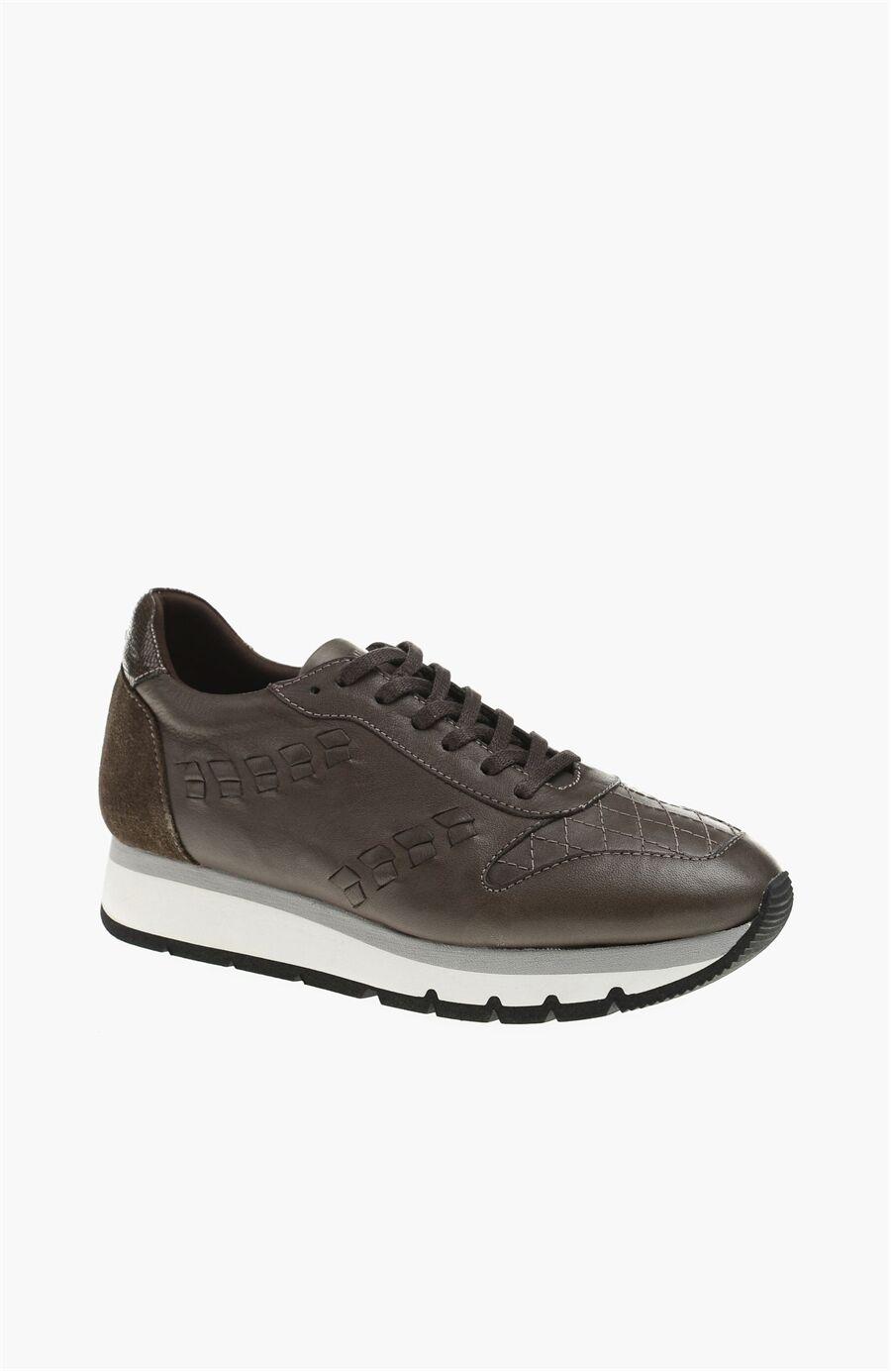 Kahverengi Kadın Sneaker