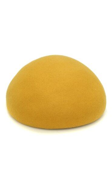 Yün Sarı Kadın Şapka