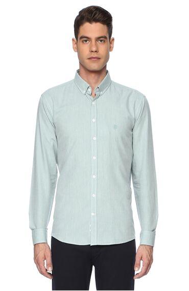 Oxford Slım Fit Mınt (Nane) Gömlek