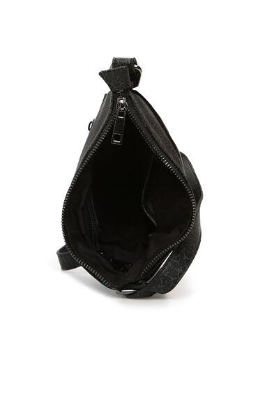 Siyah Dokulu Erkek Omuz Çantası