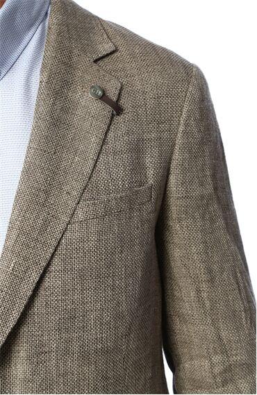 Jakarlı Bej Ceket