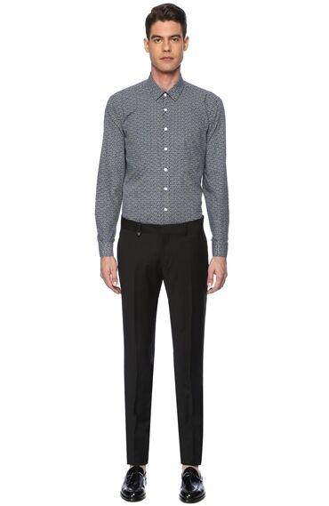 Slım Fit Siyah Pantolon