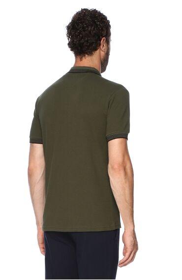 Jakarlı Haki Tshirt