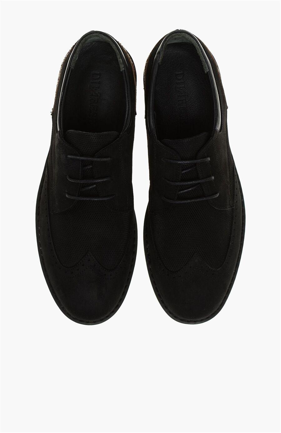 Nubuk Siyah Erkek Ayakkabı