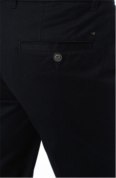 Diyagonal Slim Fit Lacivert Pantolon