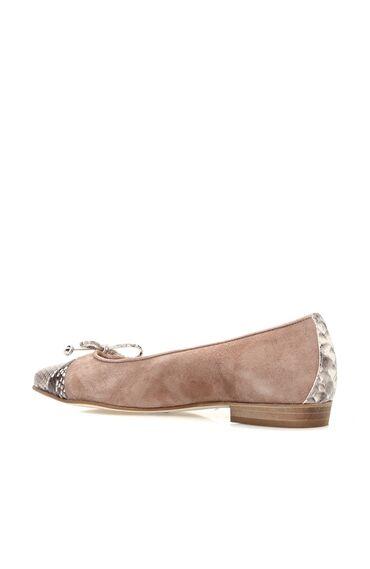 Süet Nude Kadın Ayakkabı