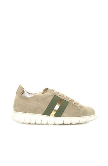 Süet Haki Sneaker