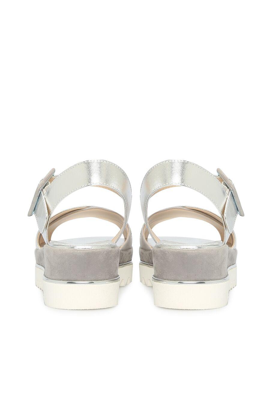 Gümüş Kadın Sandalet