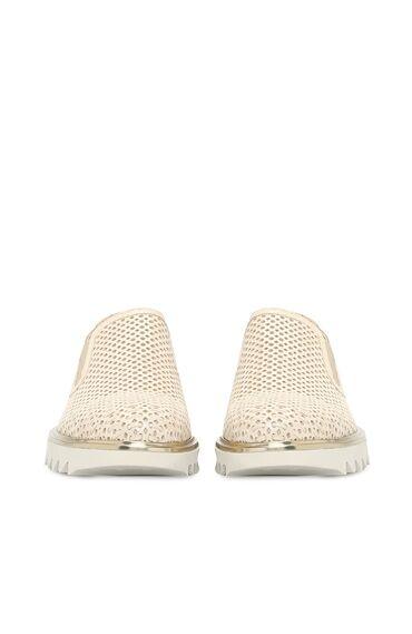 Süet Bej Kadın Ayakkabı