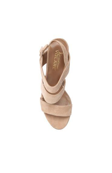Süet Vizon Sandalet