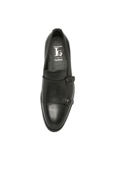 Deri Siyah Erkek Ayakkabı