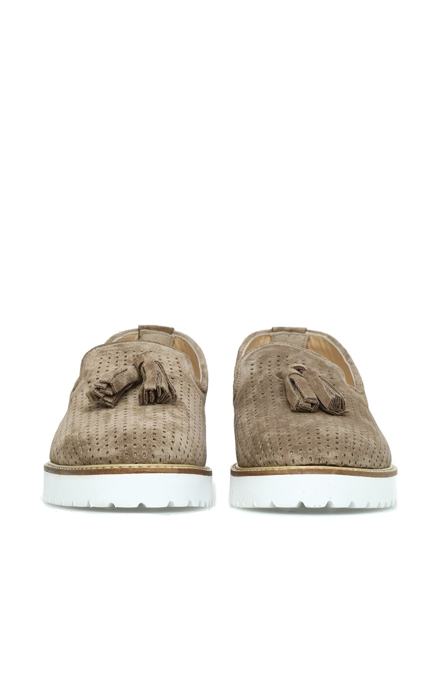 Delikli Vizon Ayakkabı