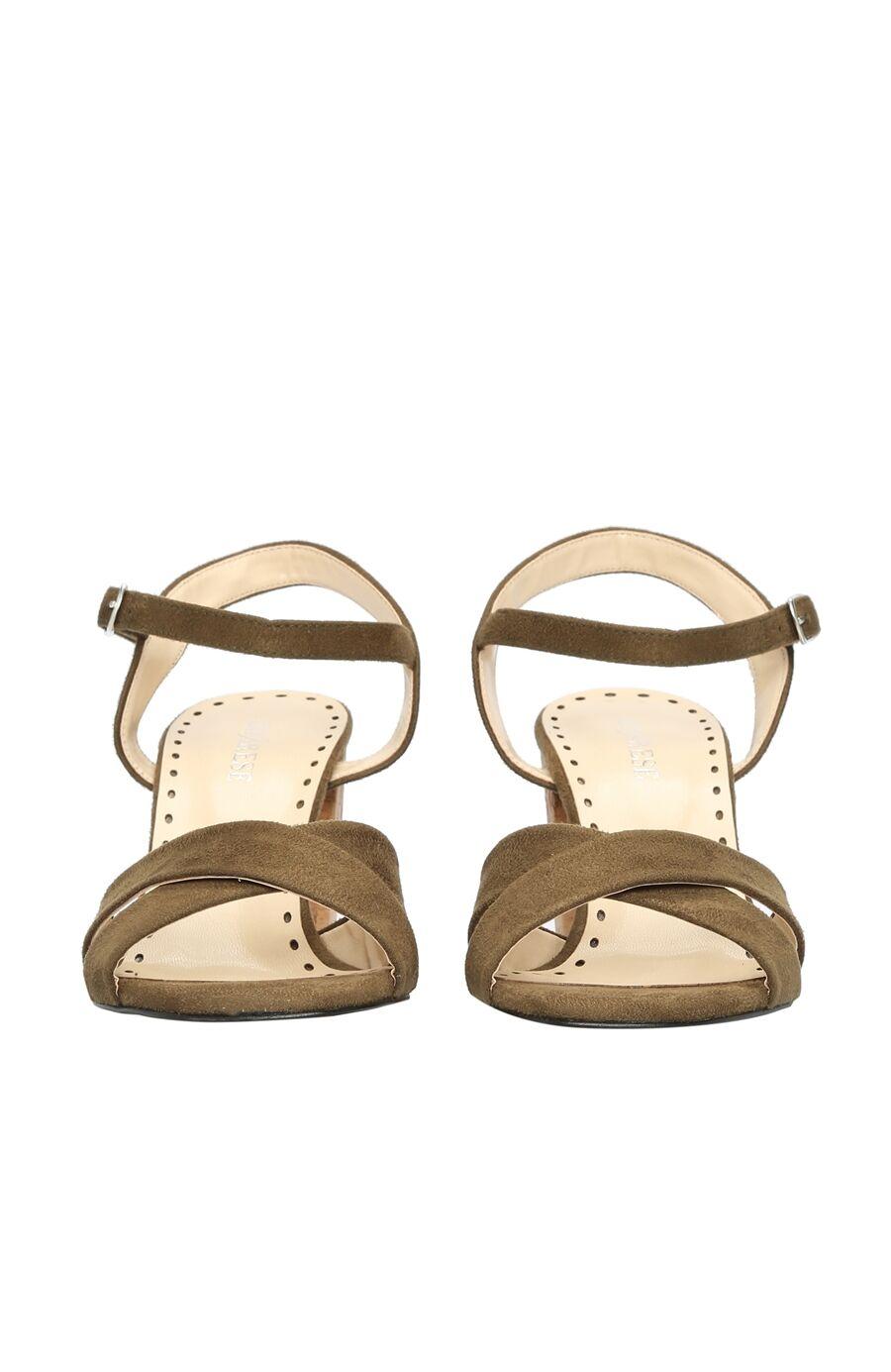 Haki Kadın Sandalet