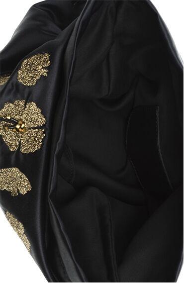 Siyah Gold (Altın Rengi) Clutch