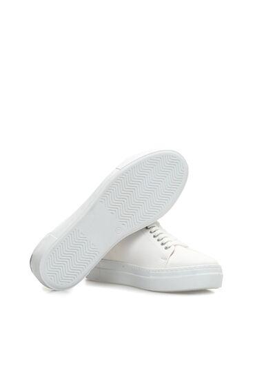 Nakışlı Beyaz Kadın Sneaker