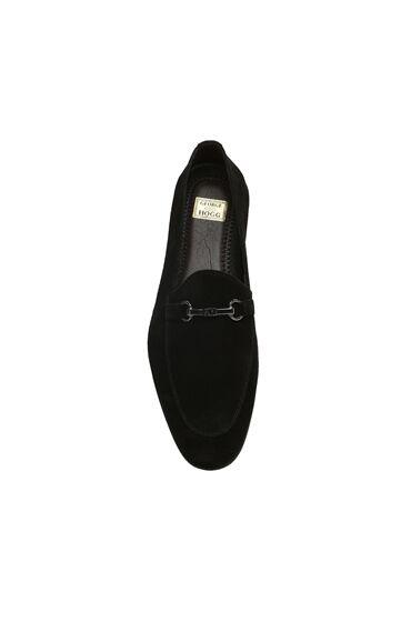 Süet Siyah Erkek Loafer
