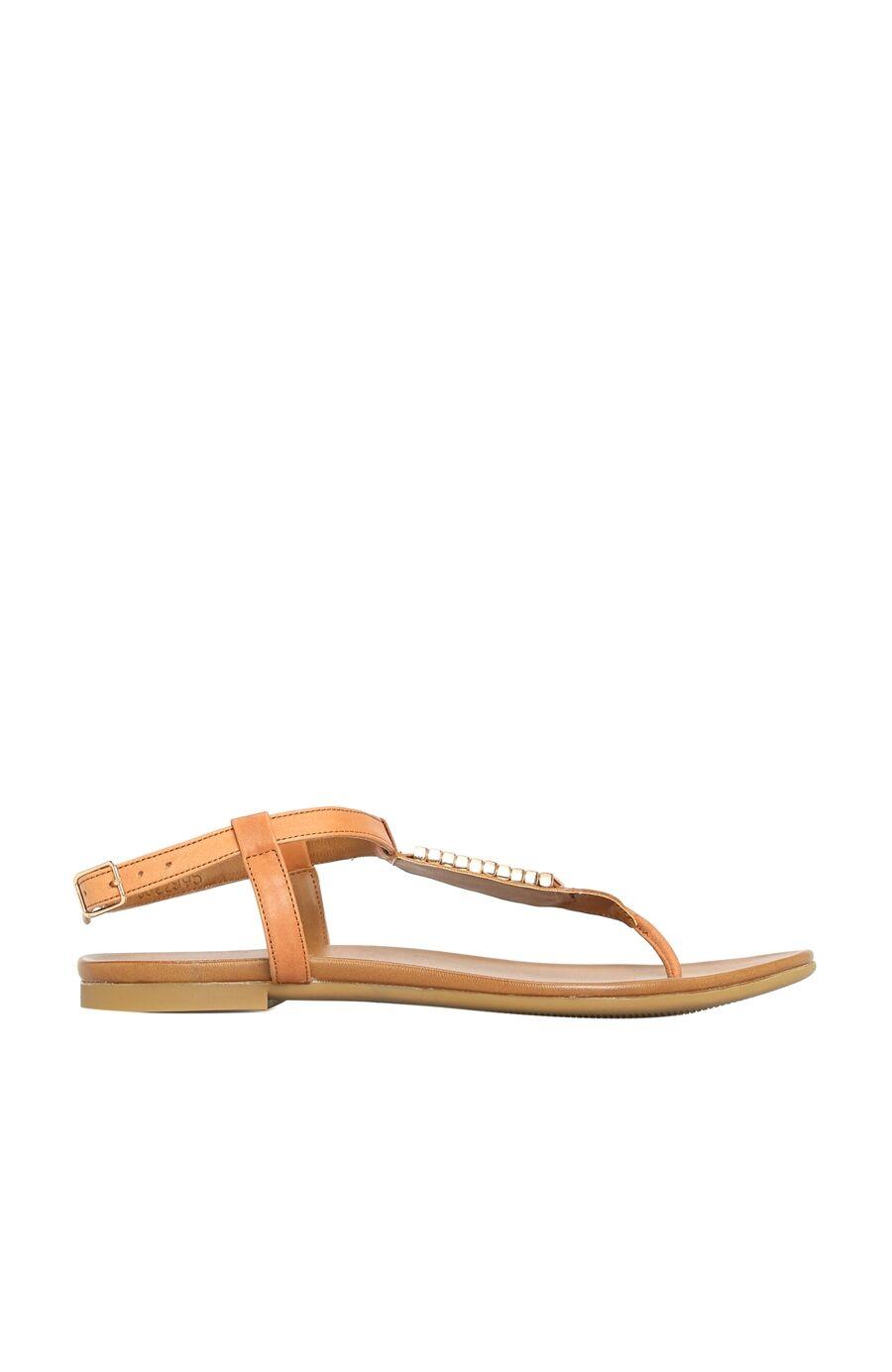 Dıvarese Taşlı Taba Sandalet – 399.0 TL
