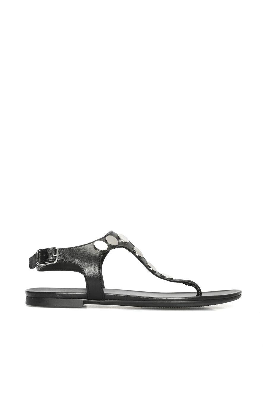 Dıvarese Taşlı Siyah Sandalet – 299.0 TL
