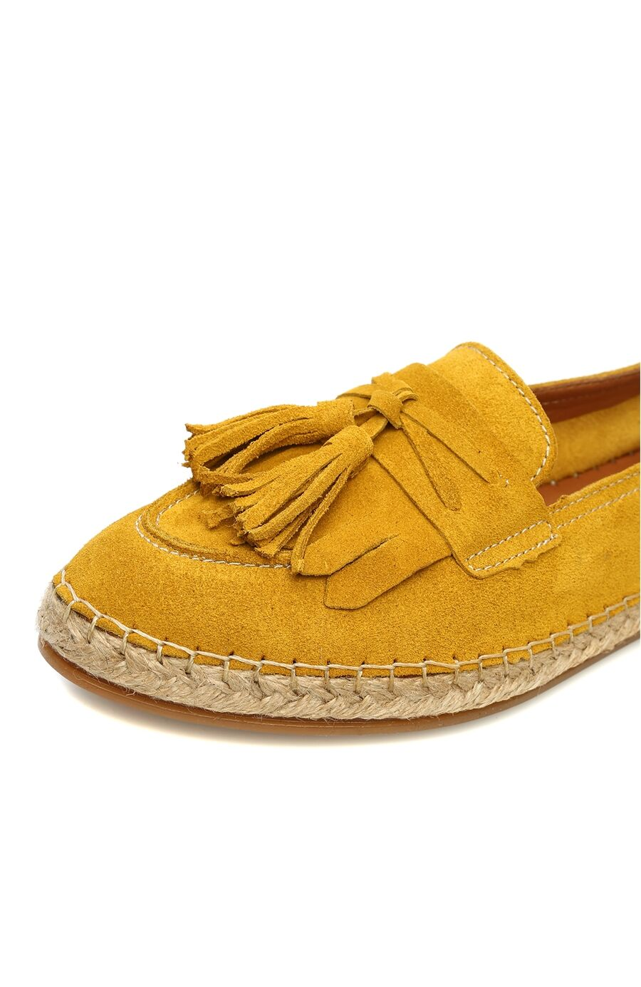 Süet Sarı Loafer