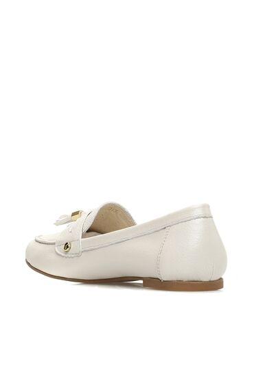 Bej Loafer