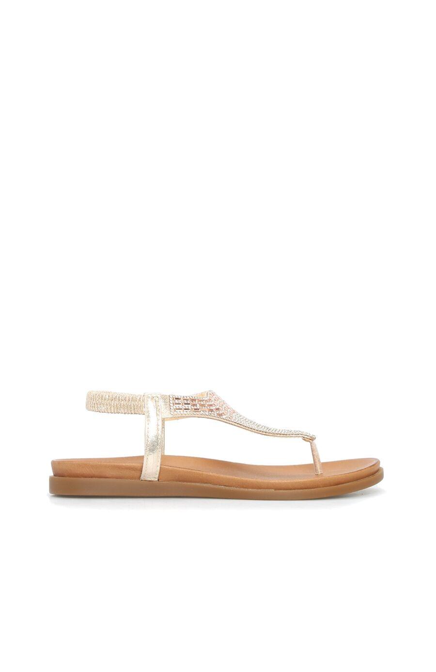 Dıvarese Taşlı Dore Sandalet – 299.5 TL