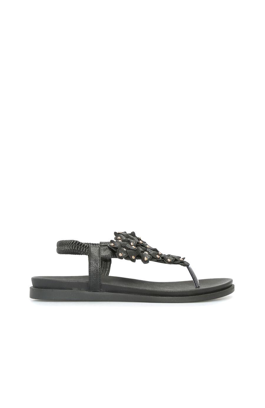 Dıvarese Troklu Siyah Sandalet – 299.5 TL