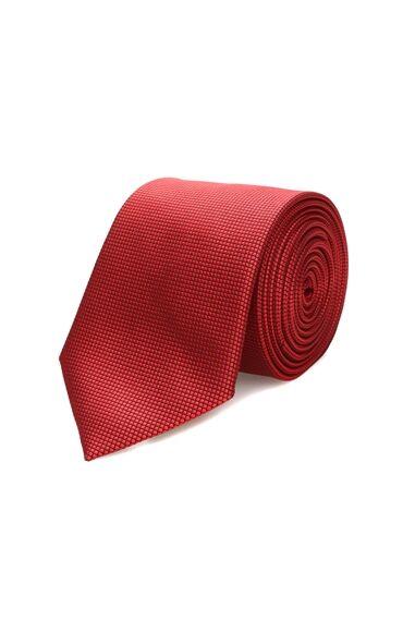 Saten Kırmızı Kravat
