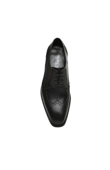 Zımbalı Siyah Ayakkabı