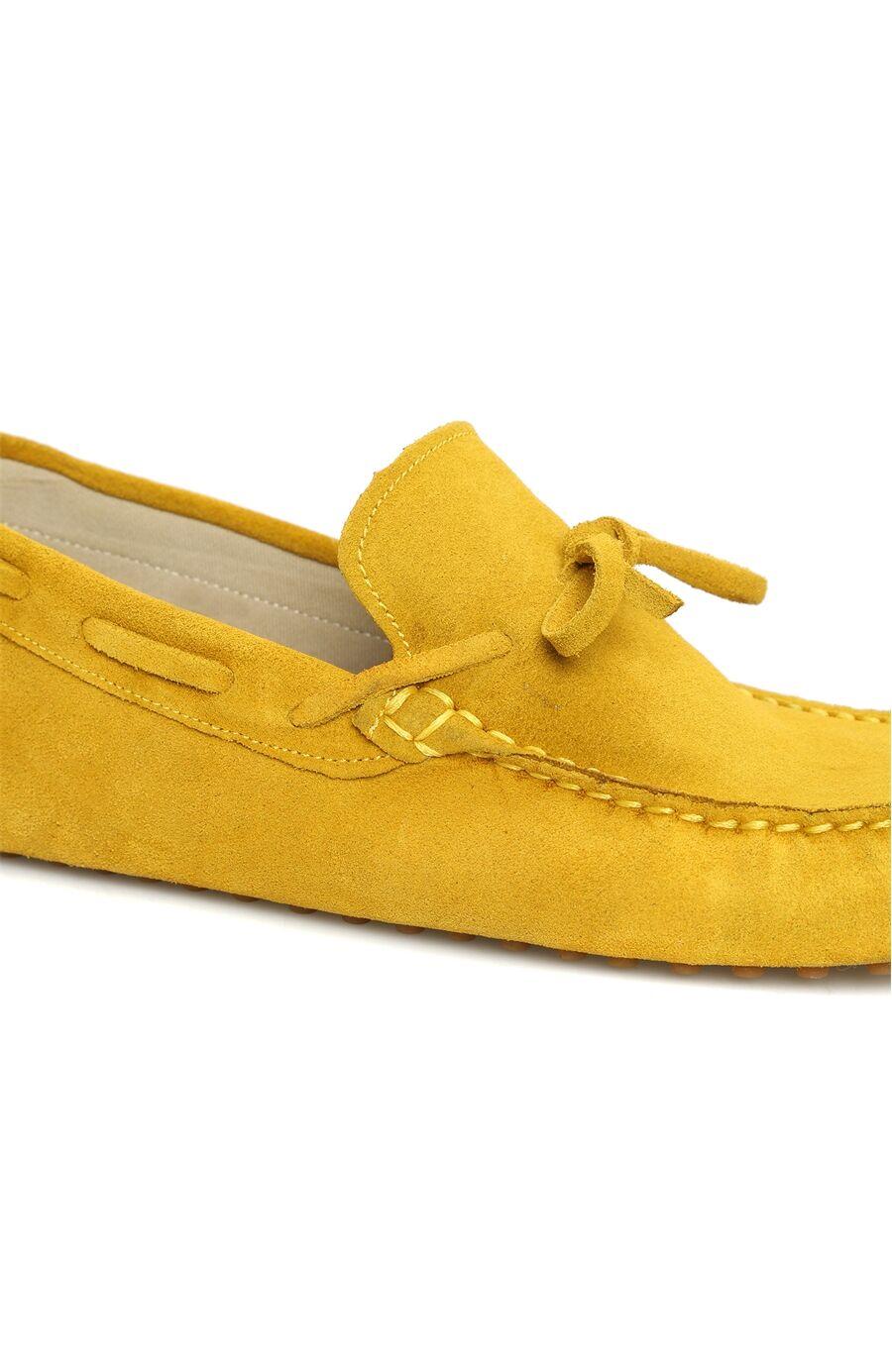 Süet Sarı Erkek Loafer