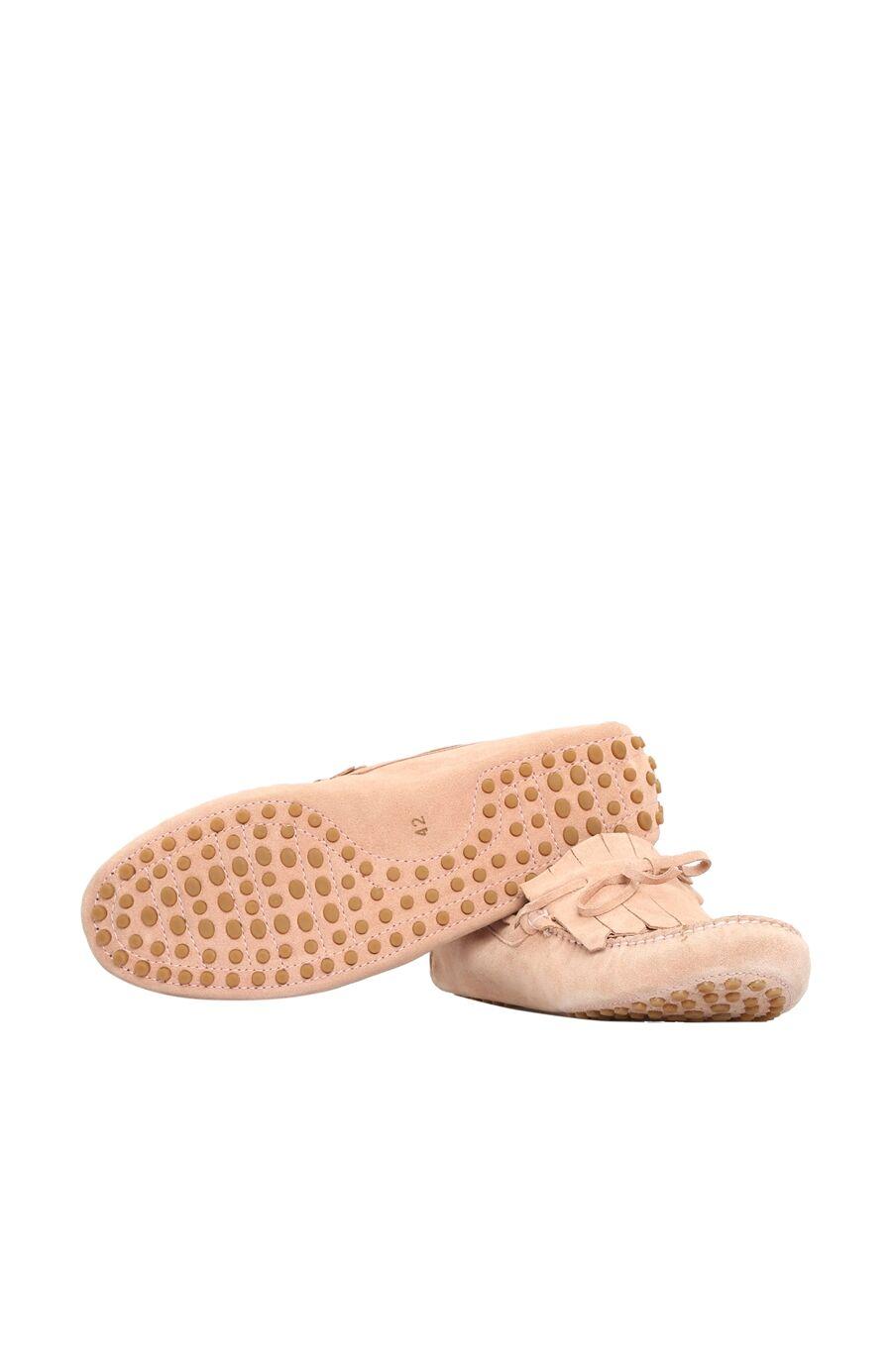 Nude Süet Loafer