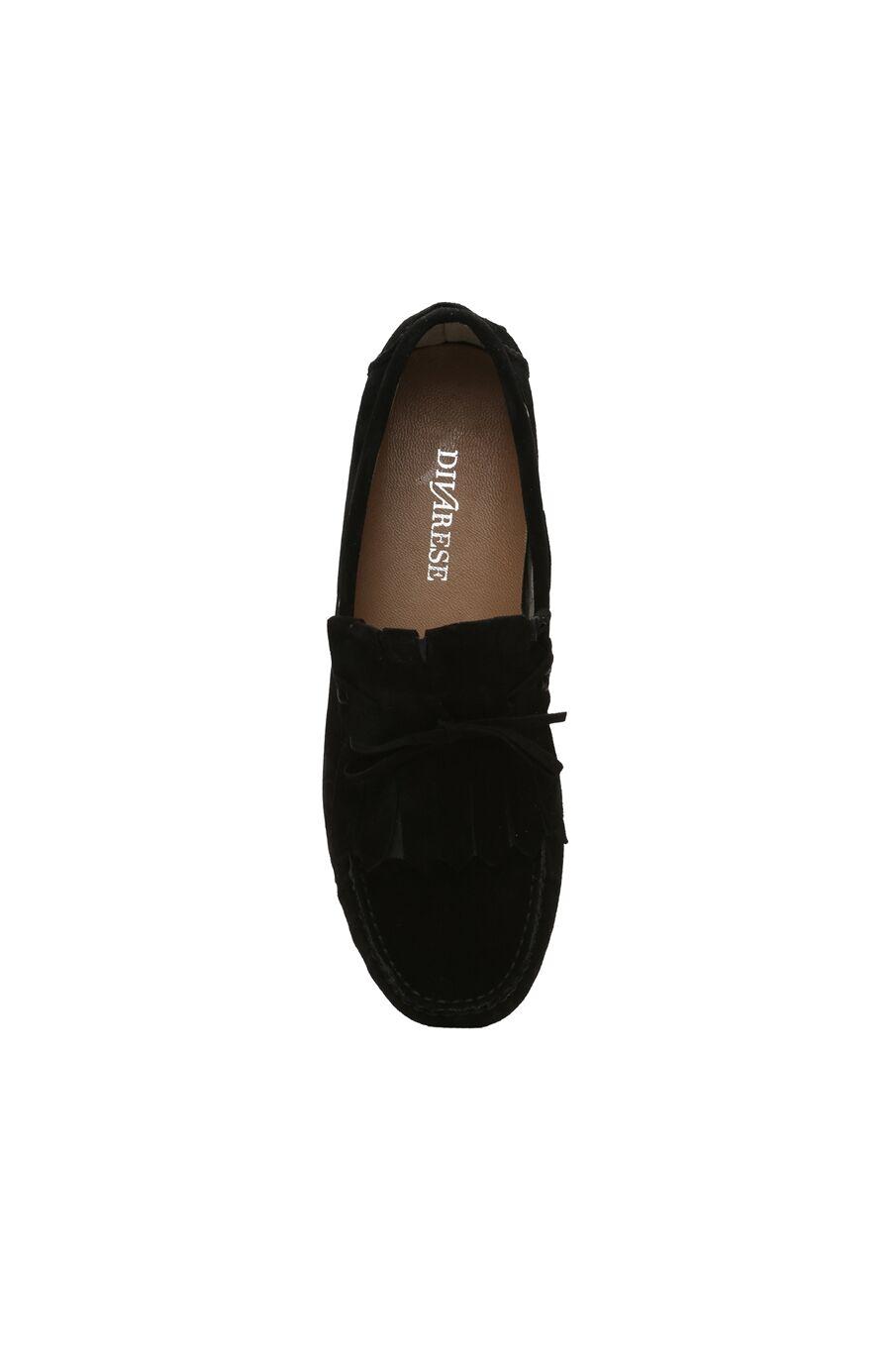 Siyah Süet Erkek Loafer