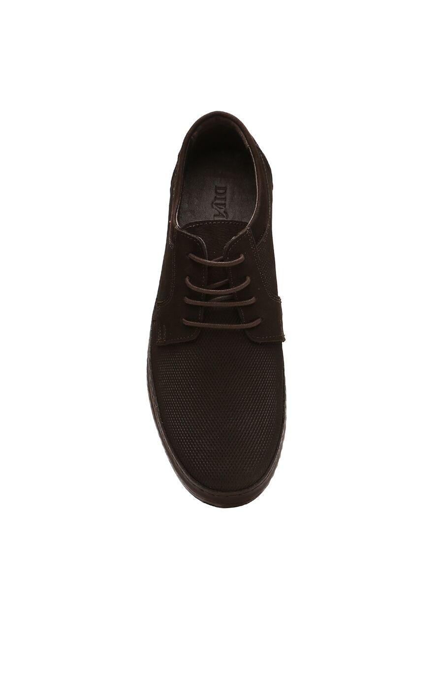 Kahverengi Nubuk Erkek Ayakkabı