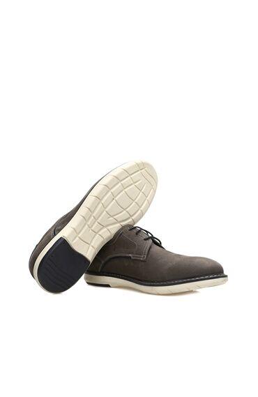 Nubuk Gri Erkek Ayakkabı