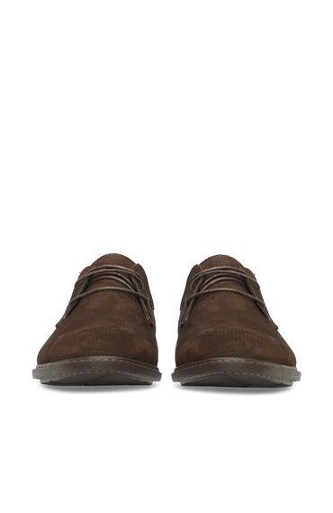 Nubuk Kahverengi Erkek Ayakkabı