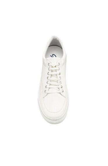 Beyaz Erkek Sneaker