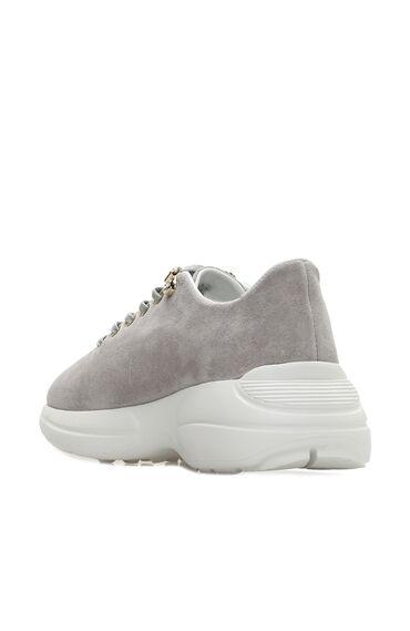 Süet Gri Kadın Sneaker